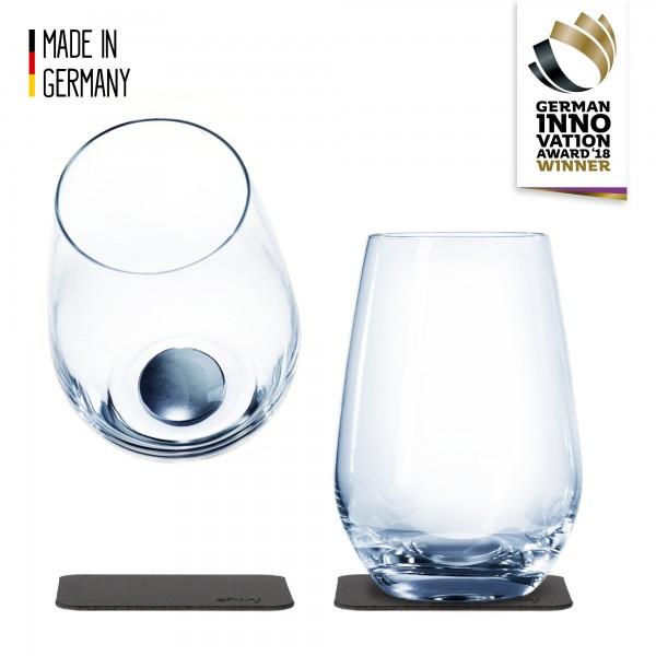 Magnetic Crystal Glass LONGDRINK (set of 2)