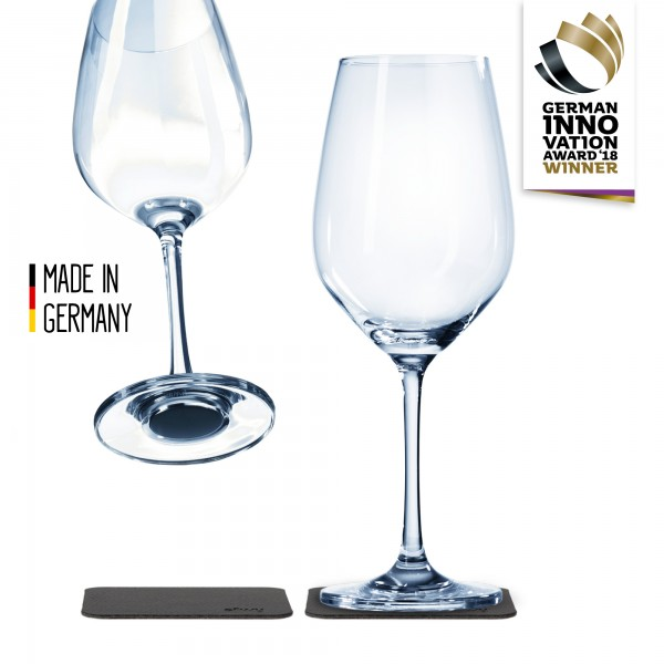 Magnetic Crystal Glass WINE (set of 2)