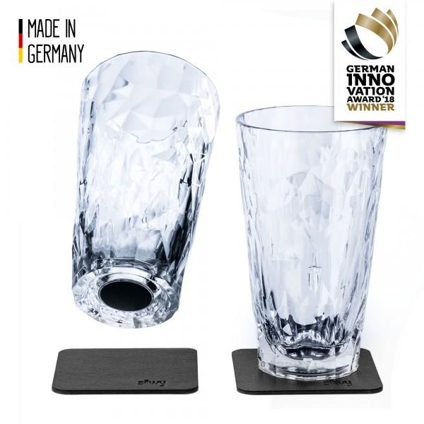 Magnetic Plastic Glasses LONGDRINK (Set of 2), High-Tech