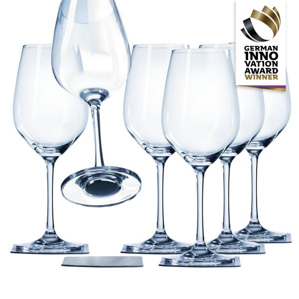 Magnetic crystal glass wine MAGIC-BOX
