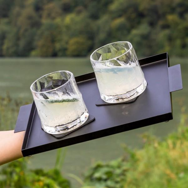 Magnetic Plastic Glasses TUMBLER (Set of 6), High-Tech
