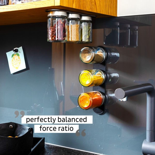 Glasses for delicacies incl. metal strip - BLACK & CLASSY