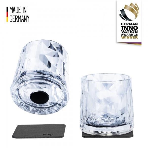 Magnetic Plastic Glasses Tumbler (Set of 2), High-Tech