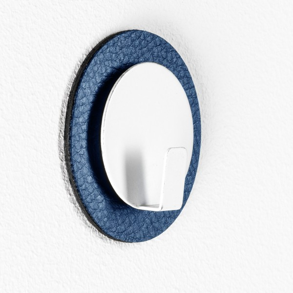 "Magnetic Hook ""CLEVER"" incl. Metal-Nano-Gel-Pad BLUE"
