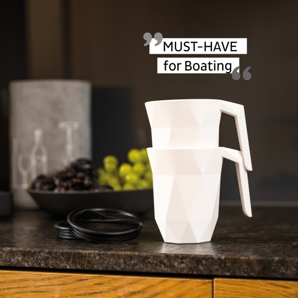 Plastic TO-GO Handle Cup