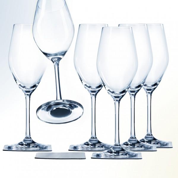 Magnetic crystal glass champagne MAGIC-BOX