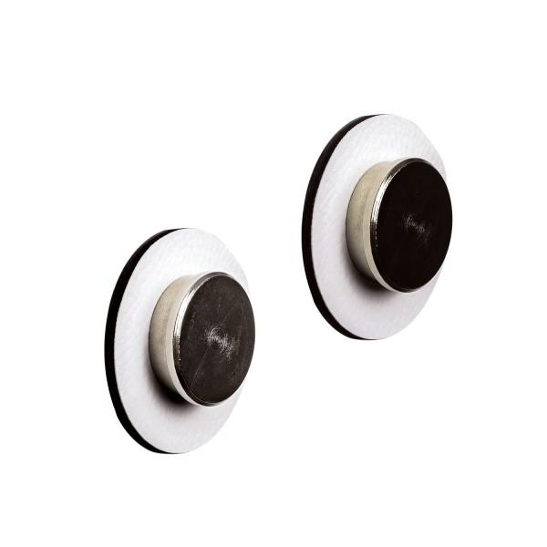 "Magnetic Pins ""SMART"" incl. Metal-Nano-Gel-Pads WHITE"