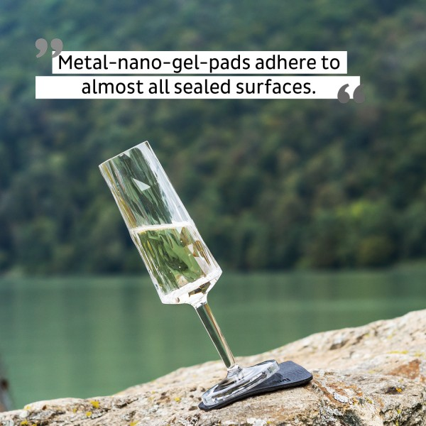 Magnetic Plastic Glasses CHAMPAGNE (Set of 6), Hightech