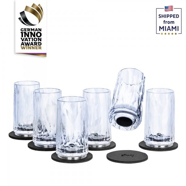 Magnetic Plastic Glasses SHOT (Set of 6), High-Tech