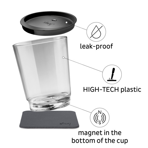 Magnetic Drinking Cup Triple, The Classic