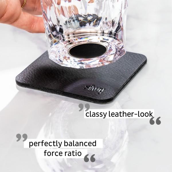 Magnetic Plastic Glasses LONGDRINK (Set of 2), Hightech