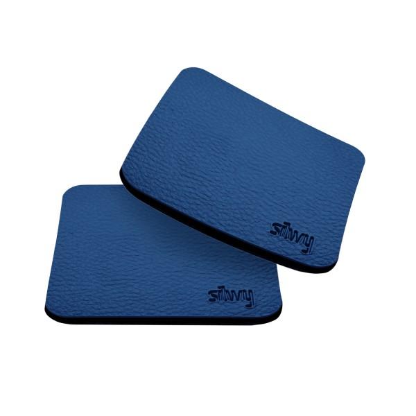 Metal-Nano-Gel-Pads BLUE (square) for magnetic glasses