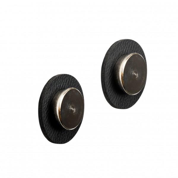 """Magnetic Pins """"SMART"""" incl. Metal-Nano-Gel-Pads BLACK"""
