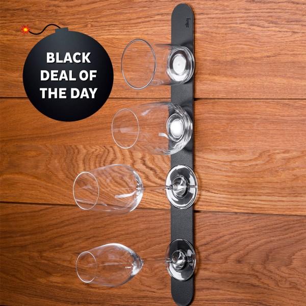 Metal strip 50 cm for glasses / pins / hooks